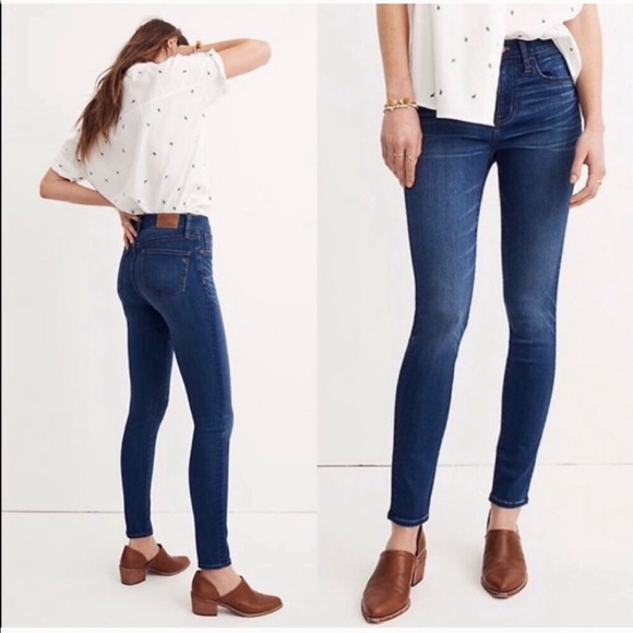 Madewell Denim - Madewell Hi Riser Skinny Roadtripper Stretch Jeans